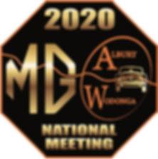 2020 MG National Meeting logo