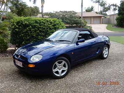 1998 MGF Soft Top