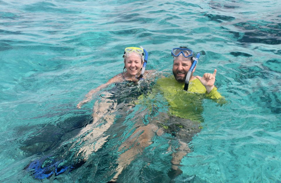 Snorkeling at South Water Caye