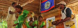 Garifuna drumming and dancing