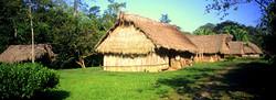 Traditional Maya House at Blue Creek