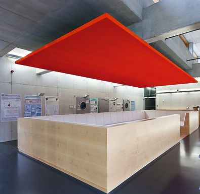 STOSILENT Modular plafond absorbant suspendu