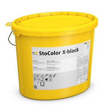 Peinture sombre STOCOLOR X-BLACK bouclier thermique
