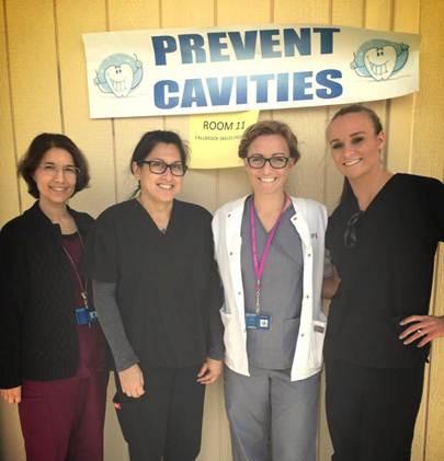 Volunteer dental screeners