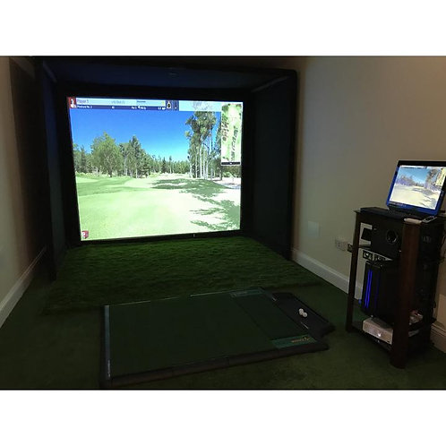 SimCube Golf Simulator Enclosure
