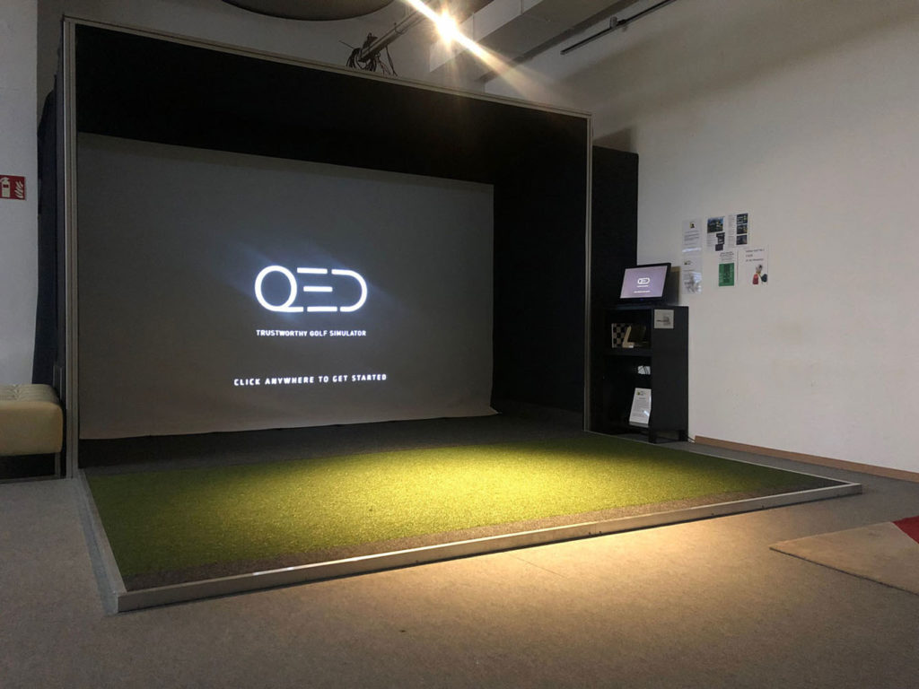 QED Golf Simulator