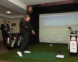 Shane Lowry in Bray Golf Club