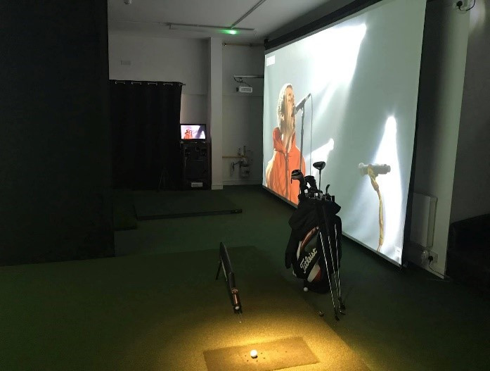 Golf Simulator SQ Stealth Screen