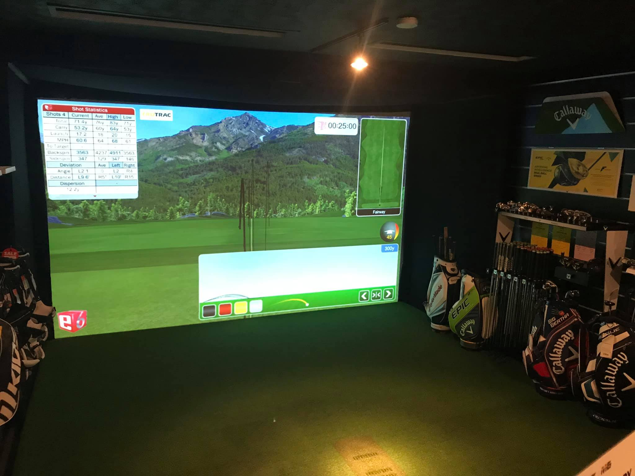 Swing Room Clubhouse Installation
