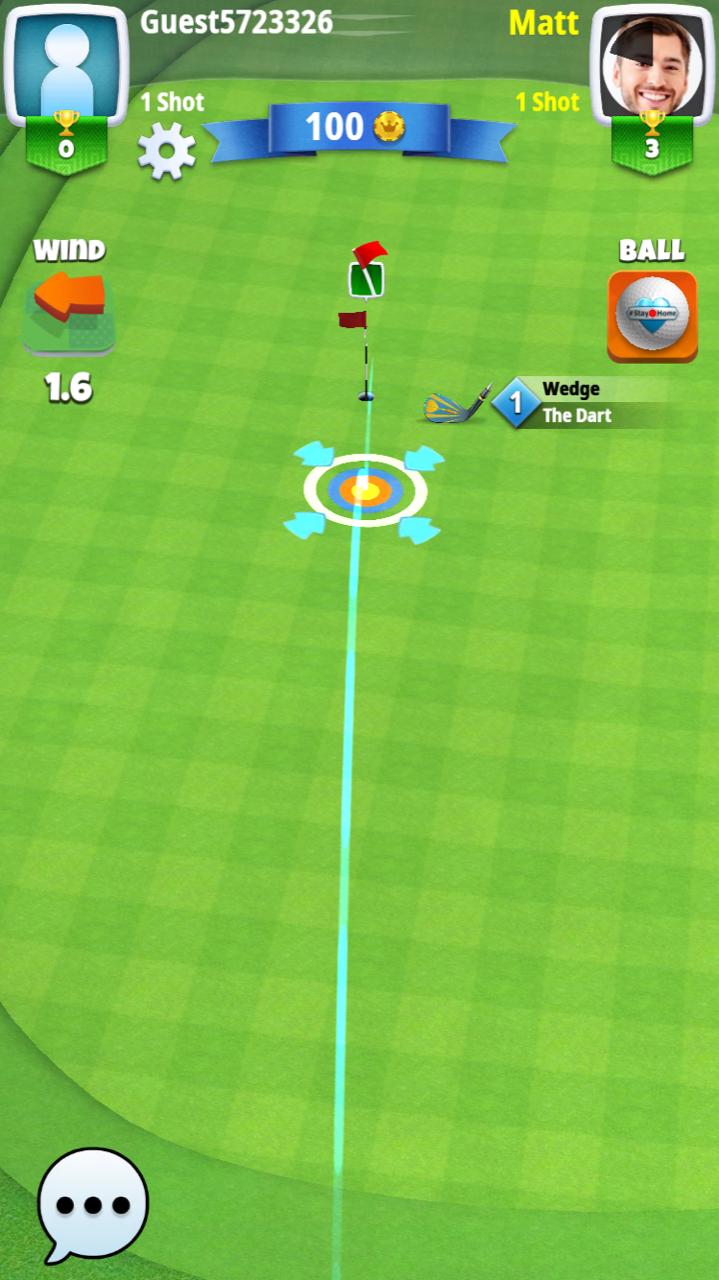 Free online golf game