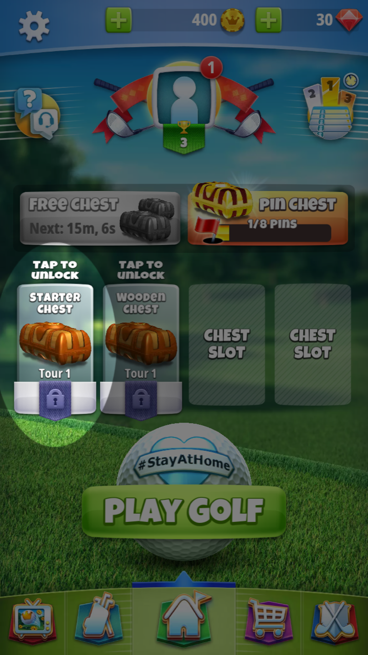 Free Golf Game for Android