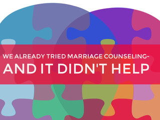 6 Reasons Marriage Counseling Fizzles