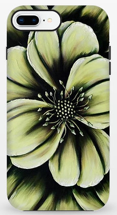 #021 Green Flower - Protective Phone Case