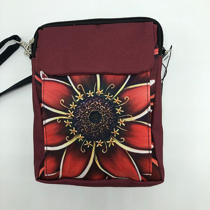 Mini Crossbody - Red Zinnia
