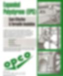 OPCO Rigid Foam Insulation Products from Recyclable Rigid Foam
