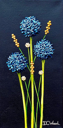 "Petite Blooms - #1176 (6"" x 12"")"