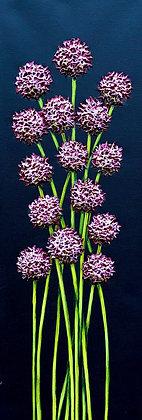 "Petite Blooms - #953  (8"" x 24"")"
