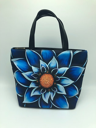 Small Bucket Bag - Into The Blue