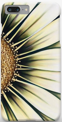 #018 White Gazania - Protective Phone Case