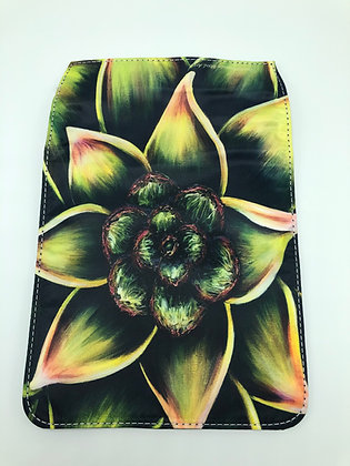 Replacement Flap Messenger Bag Cover (small) - Succulent