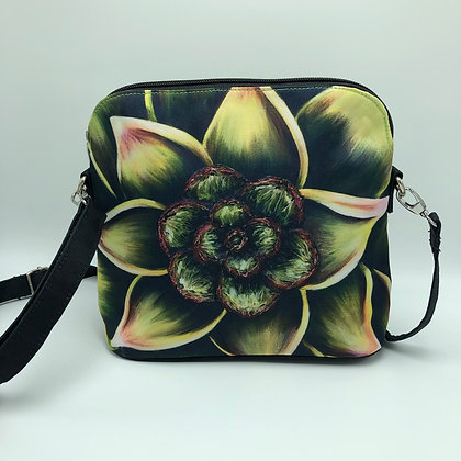 Messenger Bag - Succulent