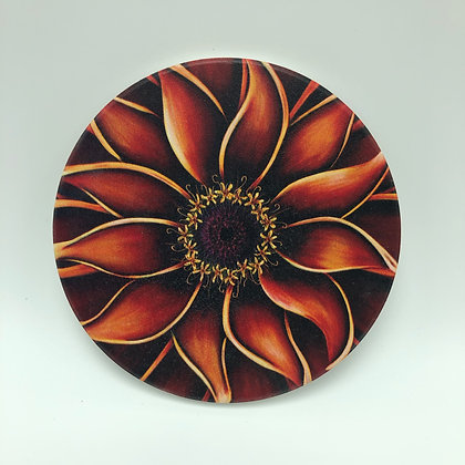 Coaster - Orange Zinnia #06