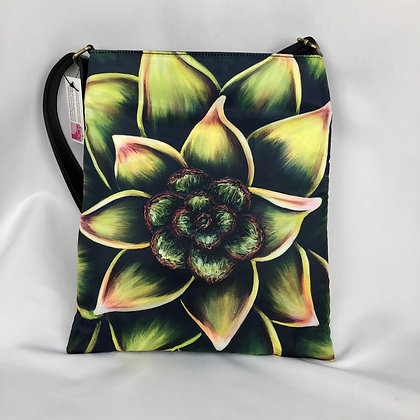 Sling Shoulder Bag - Succulent