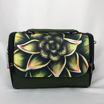 Satchel Bag -Succulent