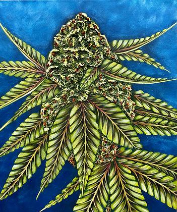 Metal Art - Cannabis Collection #6006
