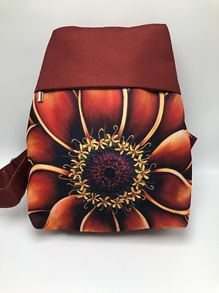Small Backpack - Orange Zinnia