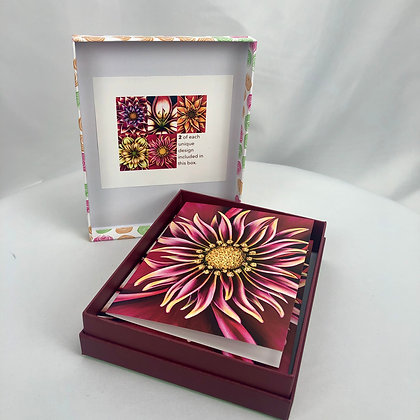 10 Any Occasion Note Cards - Pink Box