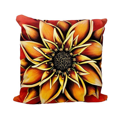 """18"""" x 18"""" Pillow Cover - Persimmon"""