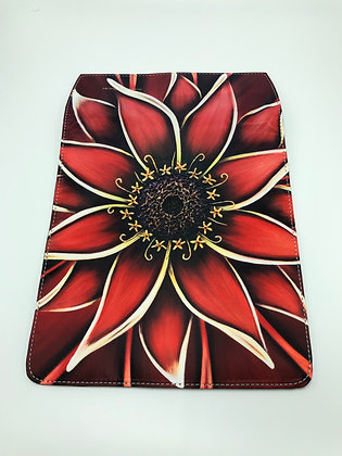 Replacement Flap Messenger Bag Cover (small) - Red Zinnia
