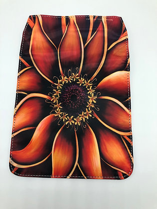 Replacement Flap Messenger Bag Cover (small) - Orange Zinnia