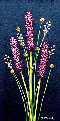 "Petite Blooms - #1191  (8"" x 16"")"