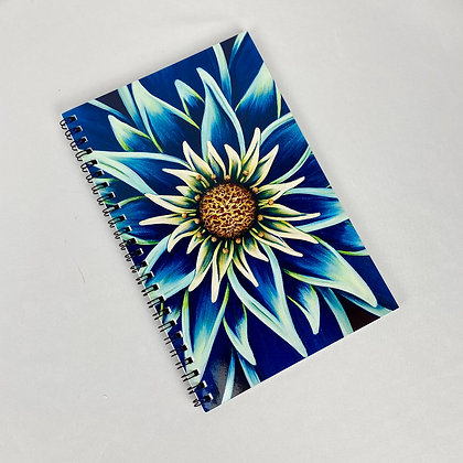 Notebook (lined) - Peacock