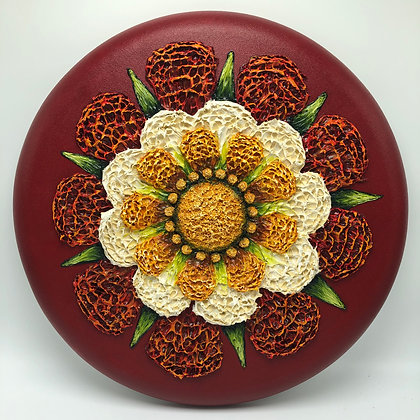 """Mandala Collection - Red #927 (16"""")"""