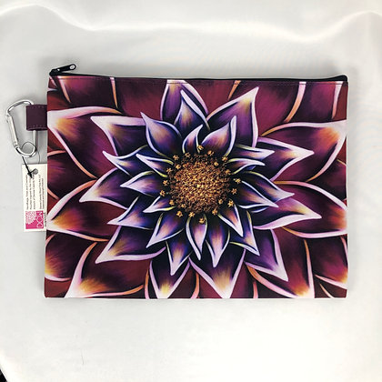 Canvas Cosmetic Pouch (Sm & Lg) - Gilded