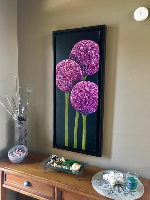 Allium with Custom Frame