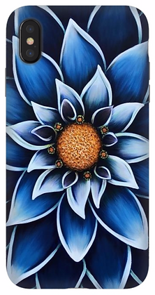 #027 Into The Blue - Protective Phone Case