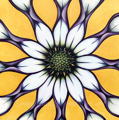 "Kaleidoscope Dream #729  (36"" x 36"")"