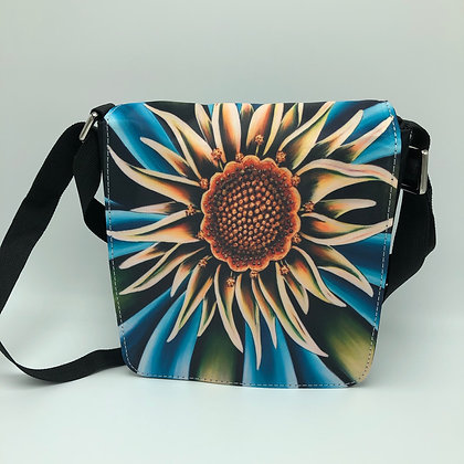 Small Flap Messenger Bag - Sea Flower
