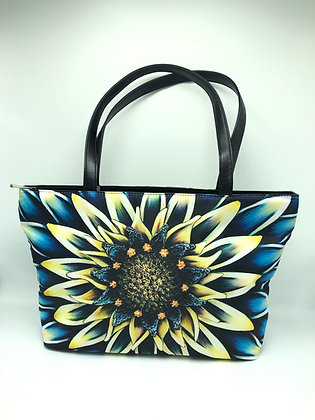 Classic Shoulder Bag- Aqua Mum
