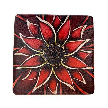 Coaster - Red Daisy