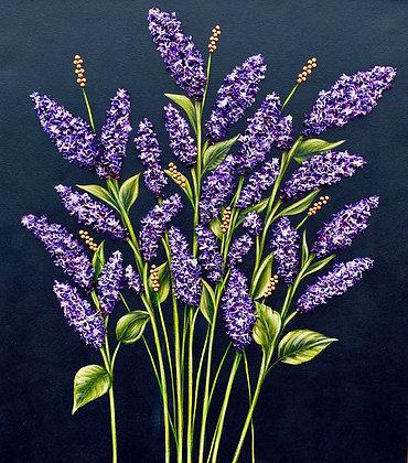"""Lilacs #1232  (24"""" x 20"""")"""