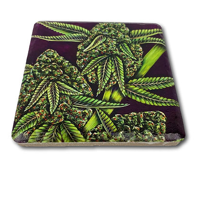 Coaster - Cannabis #6004