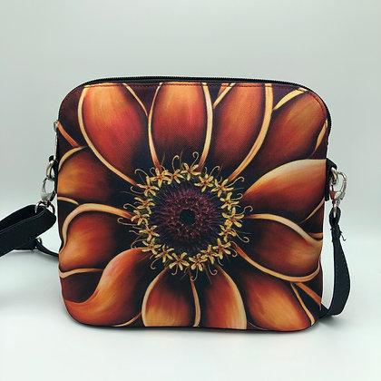 Messenger Bag - Orange Zinnia
