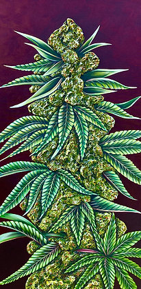 Metal Art - Cannabis Collection #6003