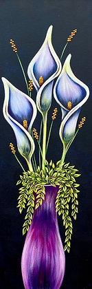 """Potted Series - #1219  (12"""" x 36"""")"""