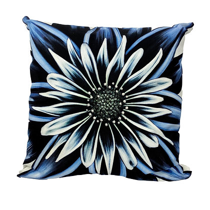 """18"""" x 18"""" Pillow Cover - Moody Blues"""